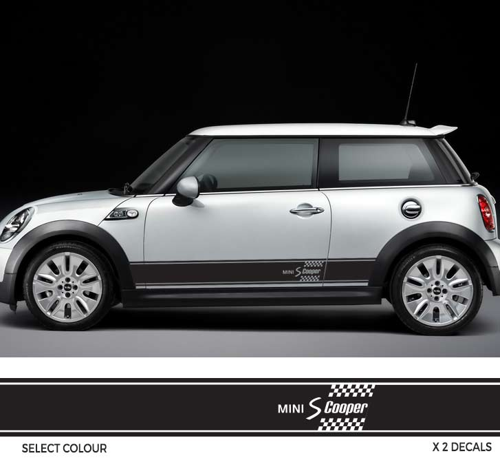 BMW MINI One, Coupe, Countryman Decals, Stickers, Graphics