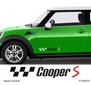 Mini Cooper Side Stripe Decal