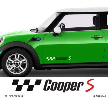 Mini Cooper Side Stripe Decal