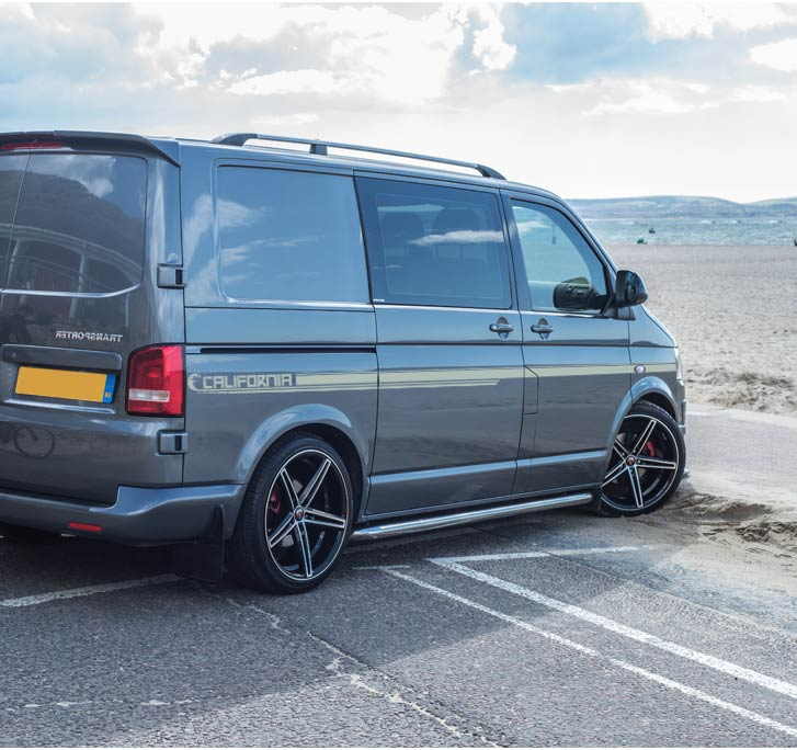 Vw Transporter California Full Length Side Stripe Sticker